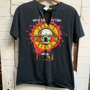 Guns N Roses band Not in this Lifetime your Medium